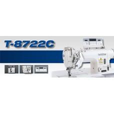 Прямострочная двухигольная машина челночного стежка Brother T-8722С