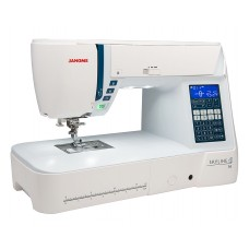 Купить швейную машину с микропроцессорным управлением  Janome Skyline S6