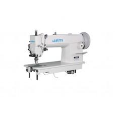 Одноигольная прямострочная швейная машина с шагающей лапкой для шитья толстой нитью JATI JT- 0303-СХ